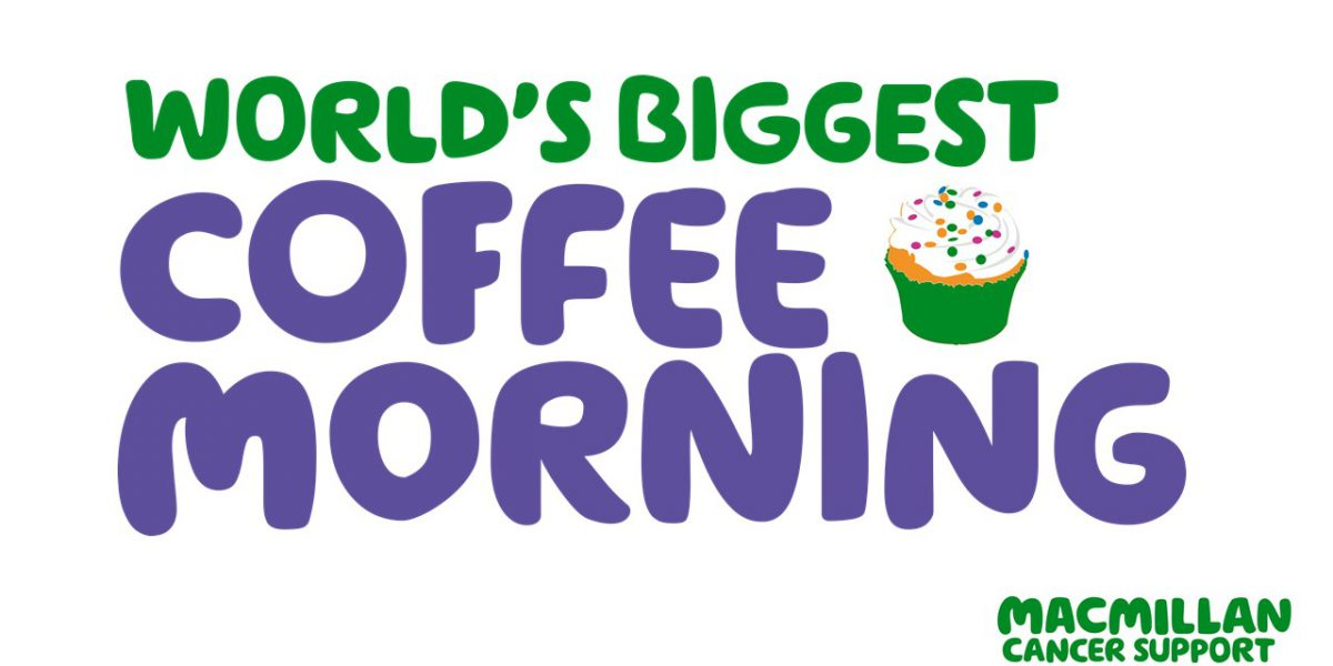 worlds biggest coffee morning 2019
