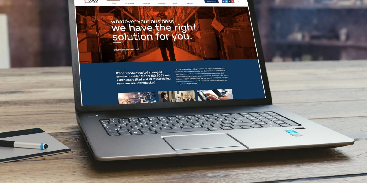 IT3000 Website Laptop Example 2019